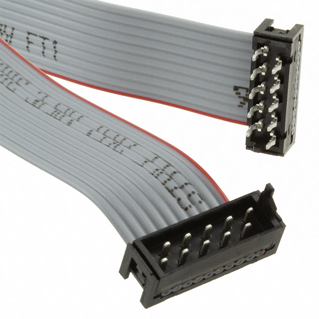 Pack of 10 2205062-3 CABLE ASSEMBLY HEADER WTW 8POS