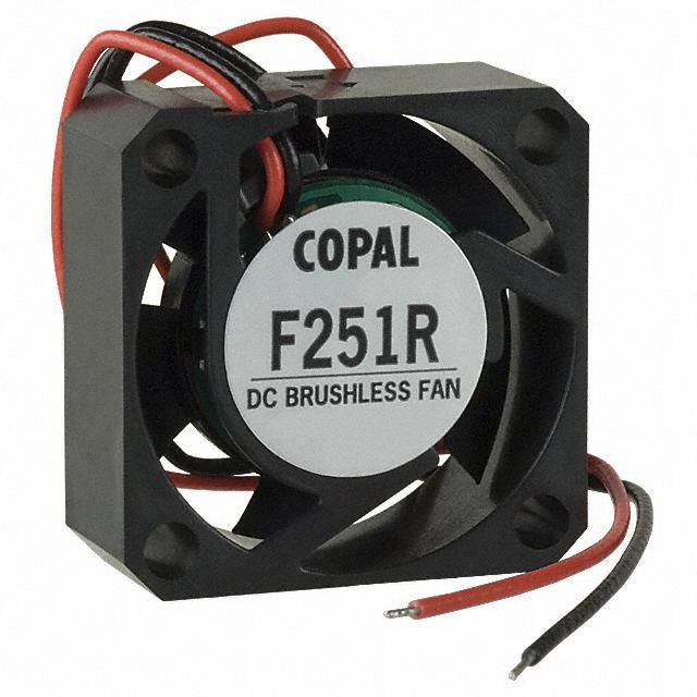 NMB TECHNOLOGIES 3110KL-05W-B20-B00 DC Fans DC Axial Fan Rib 2-Wire 28.2CFM 80x25mm 24VDC